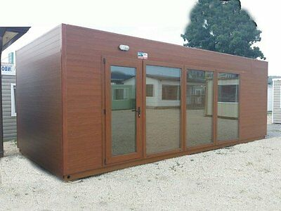 23 x10 ft portable office with WC, portable building, modular building
