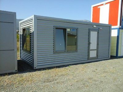 20 x 10 ft portable office with WC, portable building, modular building