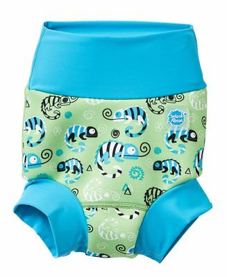 Splash About Happy Nappy/Swim Nappy | New design | Green Gecko