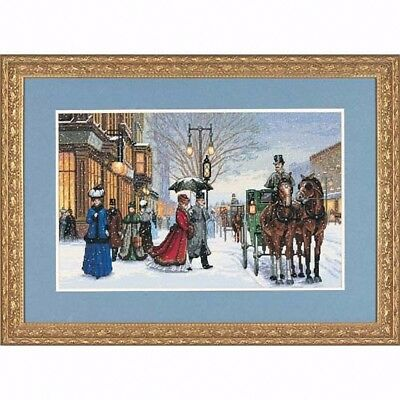"DIMENSIONS GOLD ""GRACIOUS ERA""CROSS STITCH KIT  Kreuzstich-Stickpackung 41x25 CM"