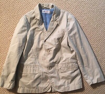 H&M Boys Sport Coat Jacket 5-6years