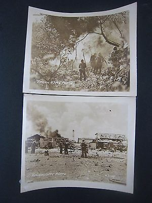 Vintage...WW2 PHOTOS..Lot of 2....USMC...Marines...........# 567-5....5x4