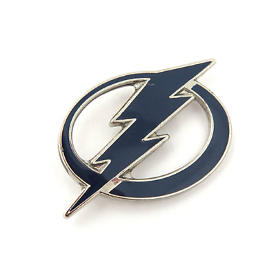 NHL Hockey Tampa Bay Lightning LARGE Logo Lapel Pin