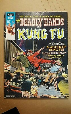 The Deadly Hands of Kung Fu No. 2 Marvel 1974 Neal Adams higher grade