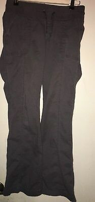Old Navy Maternity Stretch Low Rise Size S Cargo Grey Pants SUPER comfy
