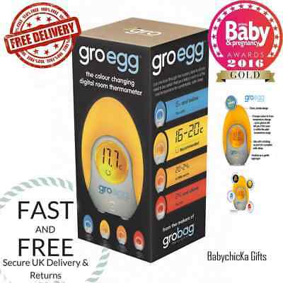 The Gro Company Gro-Egg Room Thermometer / Baby Nursery Nightlight *BRAND NEW*