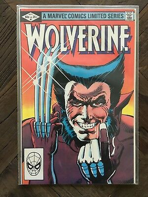 Wolverine #1 (Sep 1982, Marvel) Limited Series First Solo Comic NM