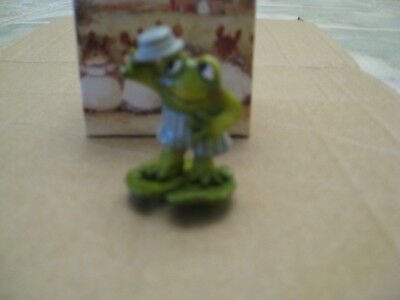 WEE FOREST FOLK MICE, FREDDY FROG, F-8, 1997, mouse and box