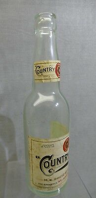 Country Club Beer Goetz Brewing St Joseph Paper Label 1925  Prohibition