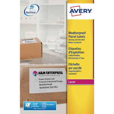 Avery Weatherproof Shipping Label 99x67mm (Pack of 200) L7993-25