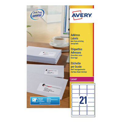 Avery Quickpeel L7160-40 Laser Address Labels (Pack of 840)