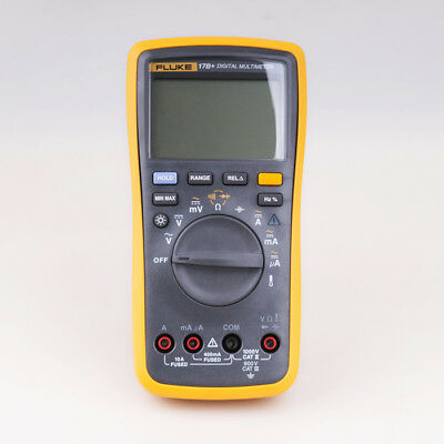FLUKE 17B+ AC/DC Voltage,Current,Capacitance,Ohm Temperature  Digital Multimeter