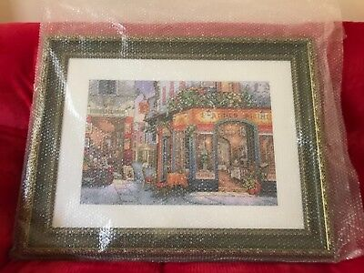 cross stirch completed framed