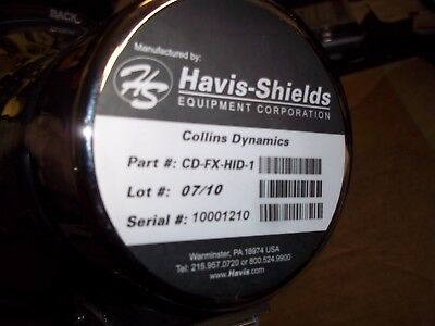 Havis Shield  Spotlight  Fire Engine  Cd-Fx-Hid-1  New  Without Box