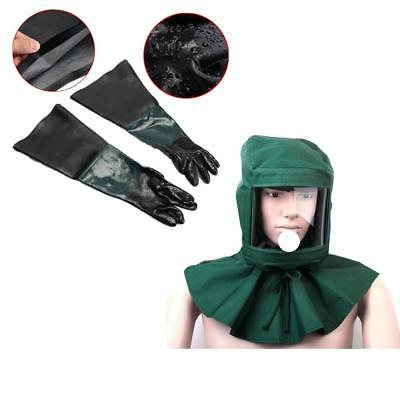 Sand Proof Heat Protection Hood Face Mask Anti-dust & Gloves Equipment Kit