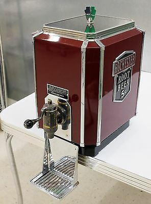 Rochester Root Beer Multiplex Fountain Dispenser Art Deco 1930s 1940s Restored