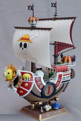 Anime One Piece PVC Luffy Pirate Thousand Sunny Ship Boat Figure New In Box