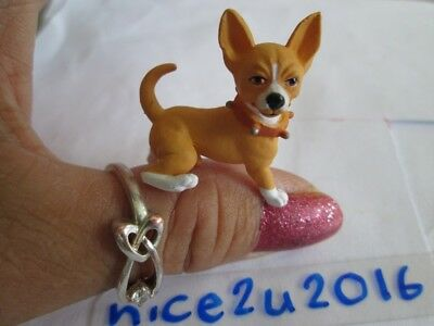 CHIHUAHUA teacup dog pee model 1/12 dollhouse pet toy for Kelly Barbie BJD doll