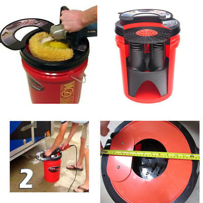 1 set  Universal Fast Pad Washer Machine for Polisher Pad Cleaning