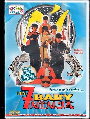 DVD Les 7 baby ninja (Neuf sous blister) | Comedie | Lemaus