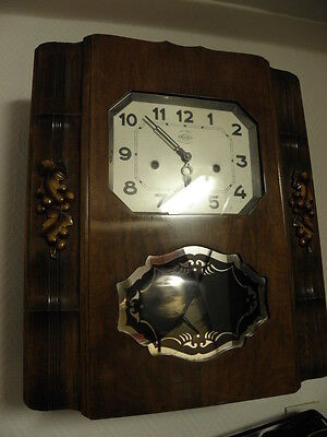 antique Clock Chime WESTMINSTER horloge retro wall Clock girod CARILLON art deco