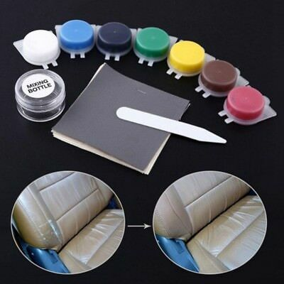 AU Useful Leather Vinyl Repair Kit Fix Rips For Car Boat Seat Reparing Tools Set