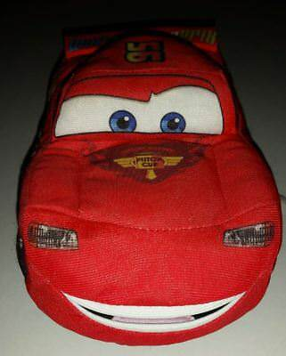 DISNEY PIXAR CARS TALKING LIGHTNING MCQUEEN 9 inch PLUSH - MOUTH MOVES kids toy