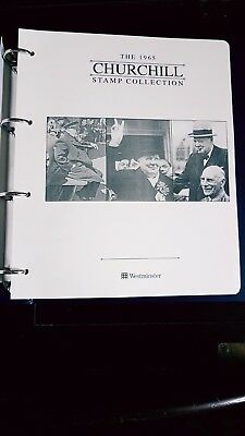 The 1965 Churchill Complete Unmounted Mint Stamp Collection