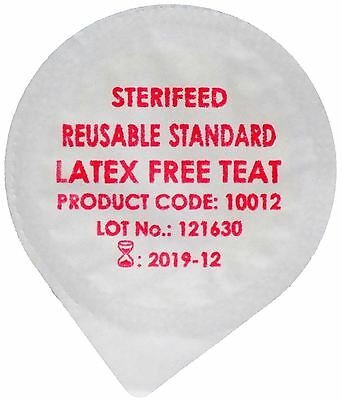 Sterifeed Latex Free 'Reuseable' Sterile Baby Teat, Standard, Pack of 10