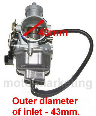 NEW CARBURETTOR for BASHAN BS200S-7 BS200S-3 BS250S-11 QUAD ATV 200 250 ccm