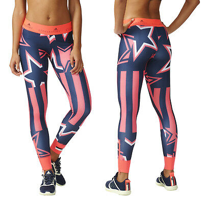 Adidas Stella McCartney Women's Leggings Stella Sport Gym Fitness Stars AP6180