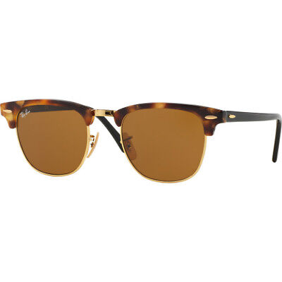 Ray-ban Clubmaster Mens Sunglasses - Spotted Brown Havana ~ All Sizes 1100dcb962c2