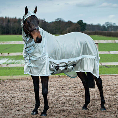 Derby House Pro Unisex Horse Rug Fly - Whispering Blue All Sizes