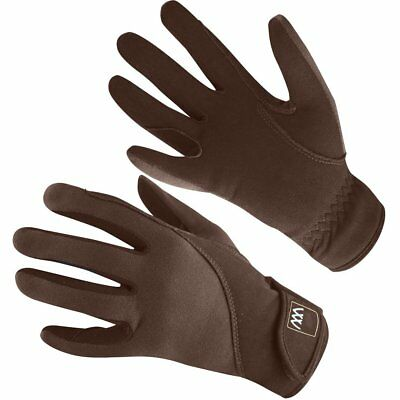 Woof Wear Precision Thermal Womens Gloves Everyday Riding Glove - Chocolate