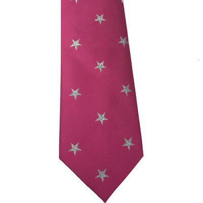 Equetech Star Show Womens Accessory Tie - Fuchsia/silver All Sizes