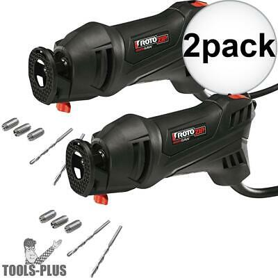 Roto Zip SS355-10-RT 2x Drywall Router Kit New