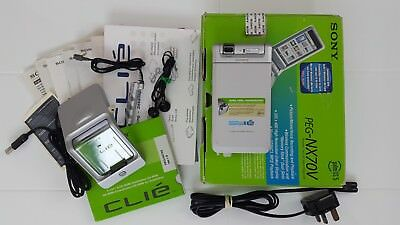 Sony Clie PEG-NX70V Palm OS 5.0 Pda Classic Media Player with Accessories Boxed