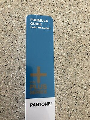 Pantone Plus Series Formula Guide Solid UNCOATED Book 50 Year Edition New Sealed