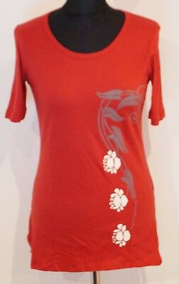 Fairtrade T-Shirt by nepalaya Handmade Elegant Bio Cotton Size S+M