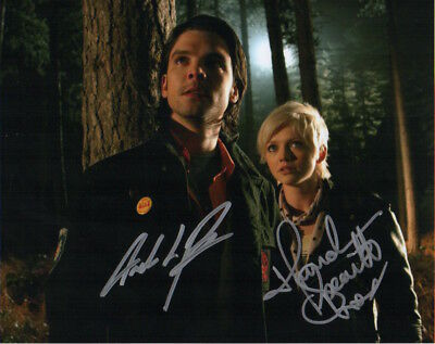 Primeval Photo Signed In Person By Hannah Spearritt /& Andrew Lee Potts D149