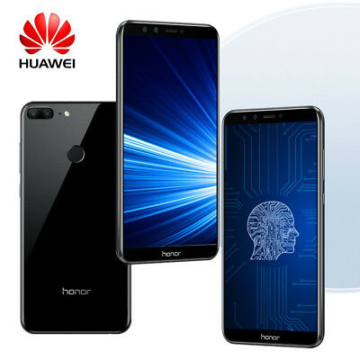 "Huawei Honor 9 Lite 4+64Go 5.65"" FHD+ Téléphone Android 8.0 Touch ID Smartphone"