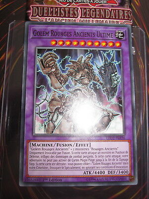 Yu-Gi-Oh Golem Rouages Ancients Ultime LED2-FR036 1st