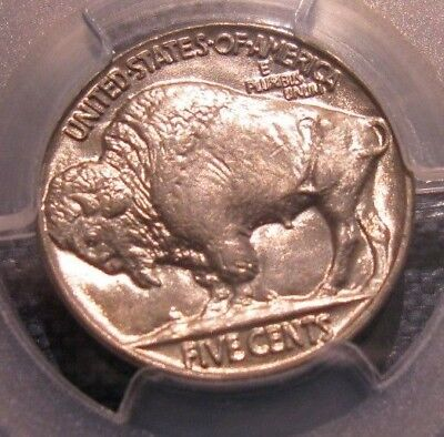 Gem Bu 1937 Buffalo Nickel Pcgs Ms 65 Brilliant Uncirculated