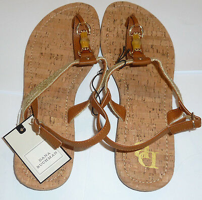 b71bd4b85 Dana Buchman Sandals Flip Flops Size 9 - 10 Large L Thongs Ladies Women s