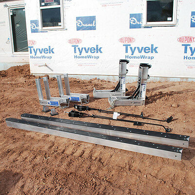 Titan® Basic Pump Jack Package Includes- (2) 24' Aluminum Poles, (2) Pump Jacks,