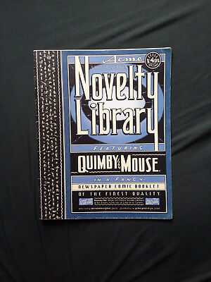 Acme Second Series Novelty Library Featuring Quimby the Mouse by Chris Ware