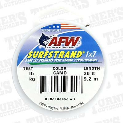 AFW Surfstrand 1 x 7 Uncoated Trace Wire