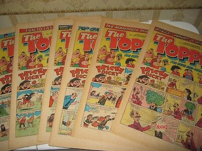 The Topper Comic 1981/Send For Kelly/Beryl The Peril (New)