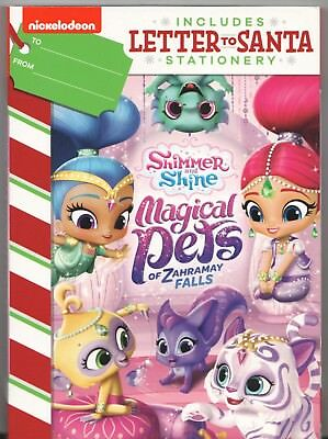 MOVIE DVD - SHIMMER & SHINE MAGICAL PETS ZAHRAMAY FALLS w/ Letters to Santa  NEW