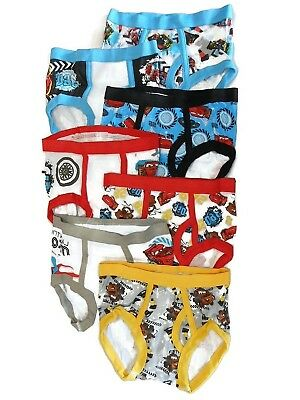 Disney Cars Toddler Boys 7 Pack Underwear Briefs